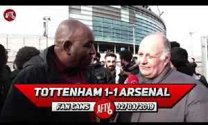 Tottenham 1-1 Arsenal | Harry Kane Shouldn't Have Been On The Pitch!! (Claude Calls Out The FA) [Video]