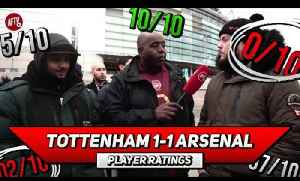 Tottenham 1-1 Arsenal Player Ratings | We Bossed Spurs ft Troopz & DT [Video]