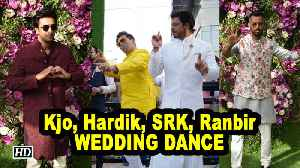 Kjo, Hardik Pandya, SRK,Ranbir WEDDING DANCE | Akash- Shloka Wedding [Video]