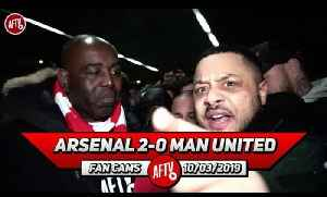Arsenal 2-0 Man United | Aubameyang Brought Banter FC Back Again! (Troopz) [Video]