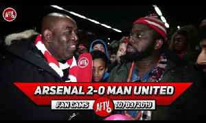Arsenal 2-0 Man United | All My Guys Are Ballaz!! Maitland-Niles Earned Respect! (Kelechi) [Video]