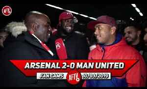 Arsenal 2-0 Man United | Maitland-Niles Was Fantastic Today! (Da Mobb) [Video]