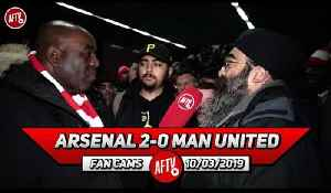 Arsenal 2-0 Man United | It's A Four Horse Race For A Top 4 Place Now! [Video]