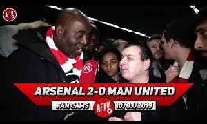 Arsenal 2-0 Man United | Leno Was My Man Of The Match! He's Been Outstanding! [Video]