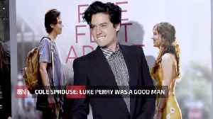 Cole Sprouse On What Kind Of Man Luke Perry Was [Video]