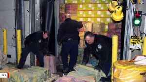 Authorities Seize 3,200 Pounds Of Cocaine Estimated To Be Worth $77 Million [Video]