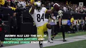 Raiders to Acquire Steelers Star WR Antonio Brown [Video]