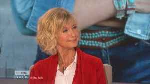 The Talk - Olivia Newton-John Says Bruno Mars, Cardi B New 'Grease' Themed Video Is 'great' [Video]
