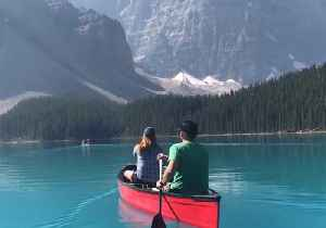 Canoeing on This Glacial Lake in Canada Is a Worthy Addition to Anybody's Bucket List [Video]