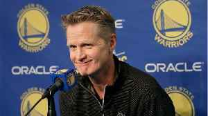 Steve Kerr Appeared To Get Caught On Camera Saying He's Tired Of Draymond Green [Video]