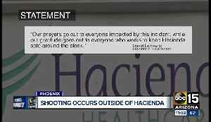Suspect shot by off-duty officer at Hacienda HealthCare facility [Video]