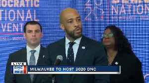 Lt. Governor Mandela Barnes says 'it was not accident that Milwaukee was chosen' [Video]