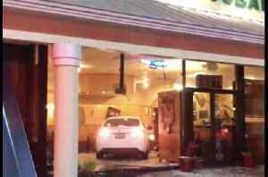 Woman drives car into Port St. Lucie restaurant [Video]