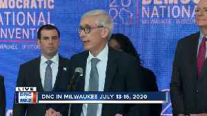 Evers confident that Milwaukee DNC will 'bring a [Democrat] win in Presidential race' [Video]