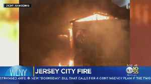 More Than Dozen Displaced In Jersey City House Fire [Video]