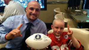 Rex Burkhead To Host Fundraiser In Hometown Plano To Fight Pediatric Cancer [Video]