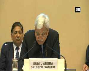 There'll be 10 lakh polling stations in 2019 Lok Sabha polls CEC Sunil Arora [Video]