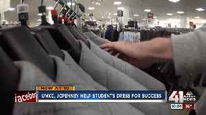UMKC students 'Suit Up' for success with help from J.C. Penney [Video]