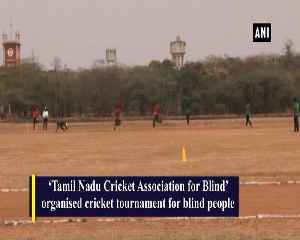Cricket tournament held for blind people in Tamil Nadus Coimbatore [Video]