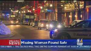Woman Reported Missing Overnight In Boston Found Safe [Video]
