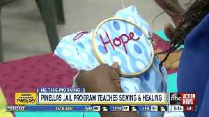 Sewing circle in the Pinellas County Jail leads to pillows, crafts & redemption [Video]