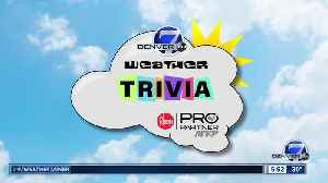 Weather trivia on March 11: Do you know what wind loading is? [Video]