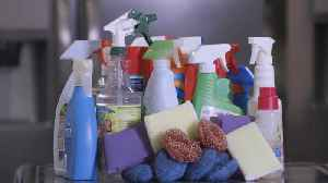 Workplace flu, disinfecting items you don't normally clean [Video]