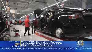 Tesla Walks Back Plan To Close Most Showrooms [Video]
