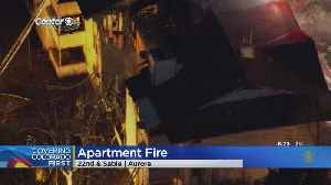 Red Cross Helps Out After Aurora Apartment Fire [Video]
