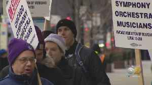 Chicago Symphony Orchestra Musicians Go On Strike [Video]