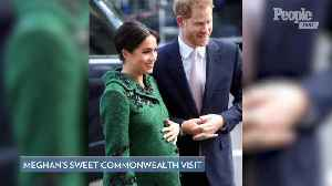News video: Meghan Markle and Prince Harry Step Out for Commonwealth Day — to See How Canadian Candy Is Made