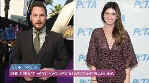Katherine Schwarzenegger Says Chris Pratt Is 'Very Involved' in Wedding Planning [Video]