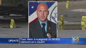 Suspects In NYPD Detective's Death Plead Not Guilty [Video]
