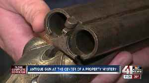Police discover vintage 1800s shotgun during search warrant [Video]