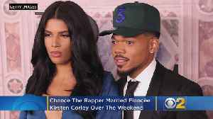 Chance The Rapper Marries Fiancee Kirsten Corley [Video]