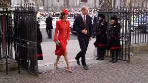 Right Now: Kate Middleton Channels a '40s Film Star at Church [Video]