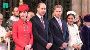Royal Family Celebrates Commonwealth Day [Video]