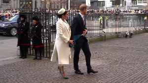 Right Now: Meghan Markle's Hat Looks Like an Exact Replica of One Once Worn By Jackie O [Video]