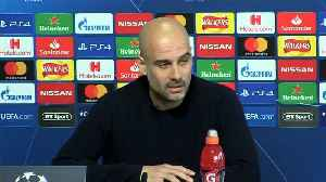 'We still have work to do,' says Guardiola ahead of Champions League match against Schalke [Video]