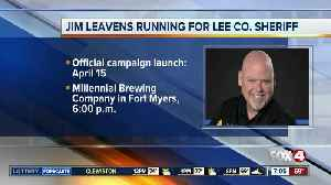 Jim Leavens announces candidacy for Lee County Sheriff [Video]