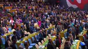 U.N. moments of silence for Ethiopia crash victims [Video]