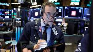 News video: Markets Are Trading Up On Wall Street