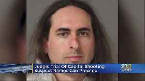 Accused Capital Gazette Shooter Jarrod Ramos' Trial Can Proceed, Judge Says [Video]