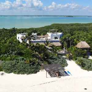 This Carribbean Villa Comes With Its Own Private Beach [Video]
