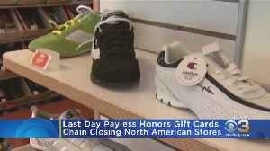 Monday Is Last Day Payless Will Honor Gift Cards [Video]