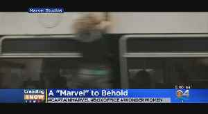News video: Trending: Captain Marvel Opens With $455 Million