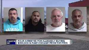 4 men allegedly bought 'fake cocaine' from undercover agent [Video]
