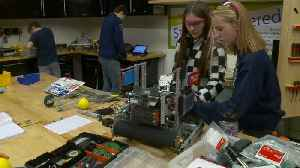 Utah Sisters Take First Place in Robotics Competition [Video]