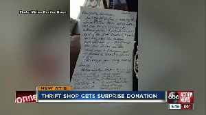 Dunedin thrift shop receives letter from U.S. Supreme Court Justice Ruth Bader Ginsburg [Video]