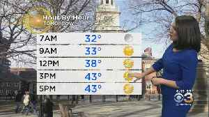 Monday Evening Forecast: Stretch Of Sunshine [Video]